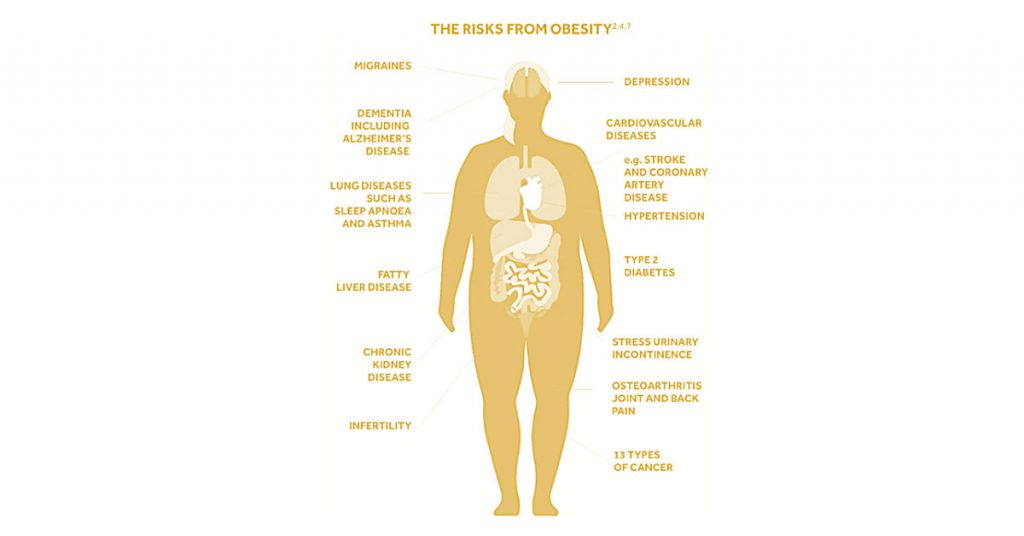 what are the risks of obesity
